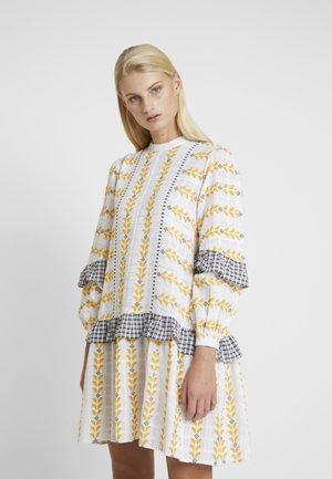 SANDRA DRESS - Korte jurk - white