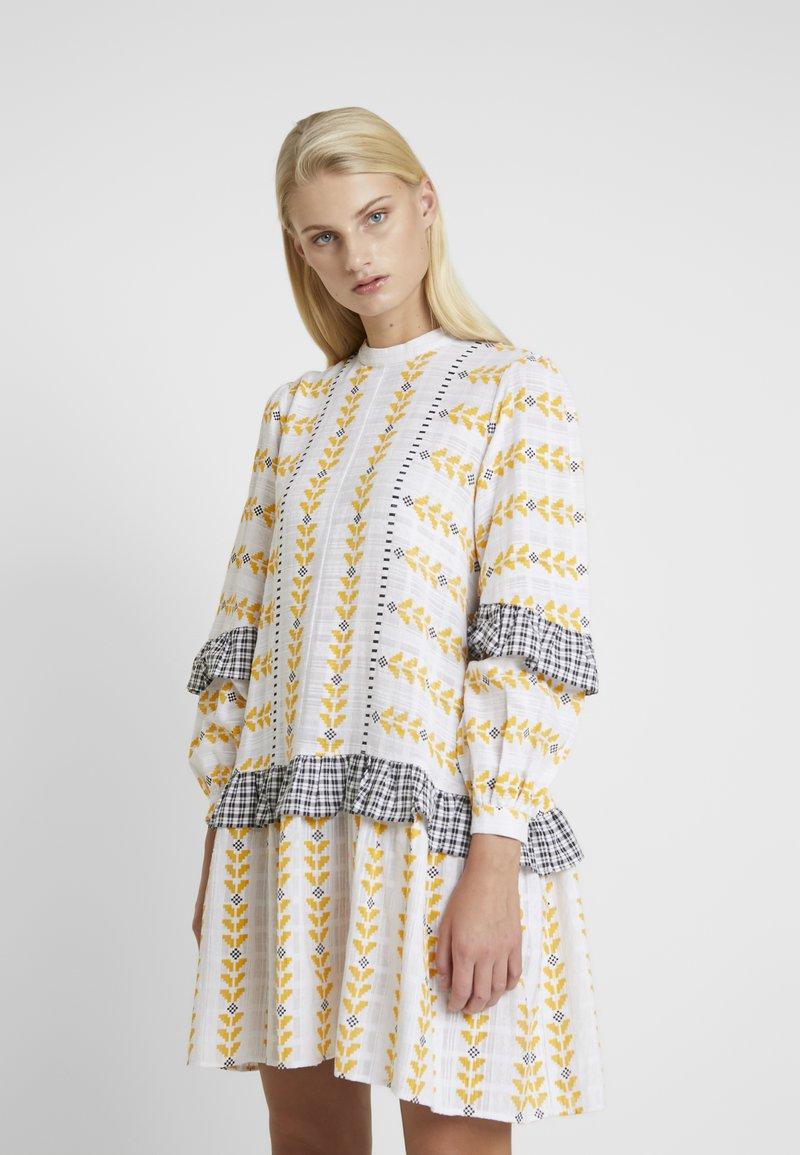 Résumé - SANDRA DRESS - Korte jurk - white