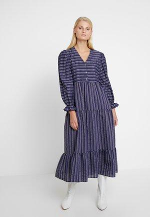 SILLE DRESS - Skjortekjole - navy