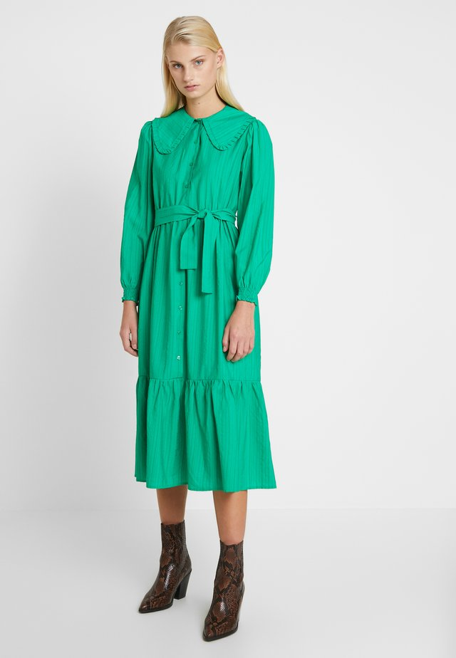 STELLA DRESS - Skjortekjole - green