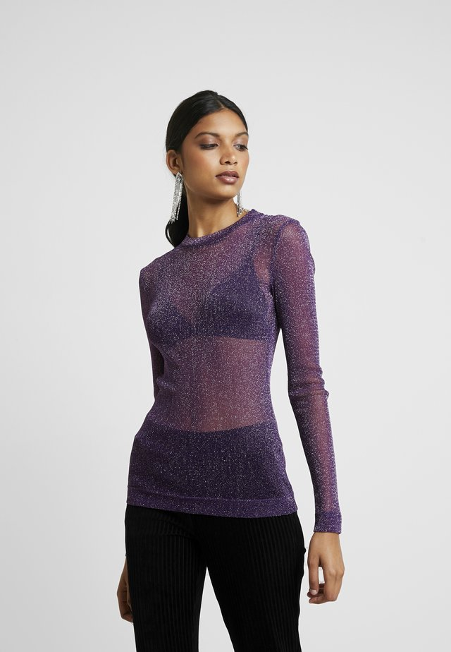 BELLA BLOUSE - Bluser - purple