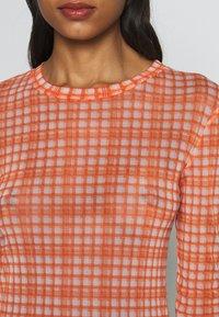 Résumé - TOBY BLOUSE - Pitkähihainen paita - neon orange - 5