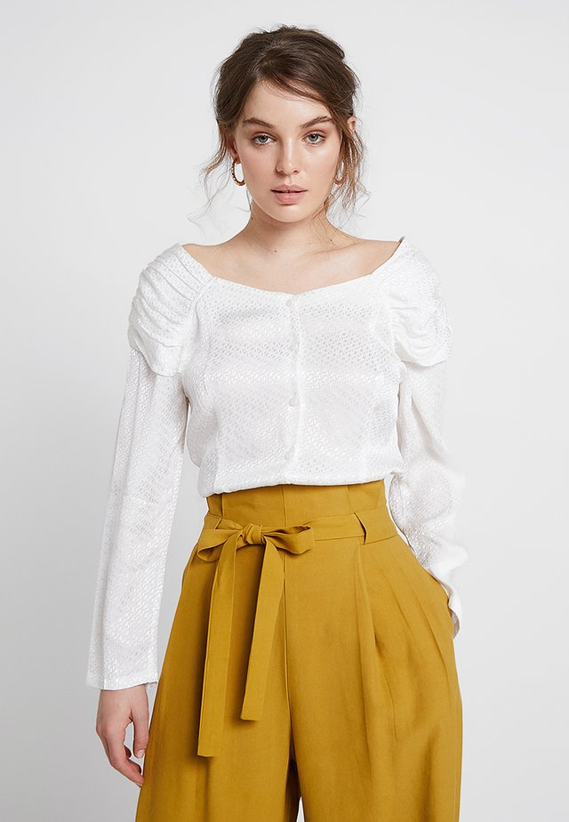 MIMI BLOUSE - Bluser - white