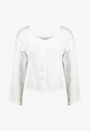MIMI BLOUSE - Blus - white
