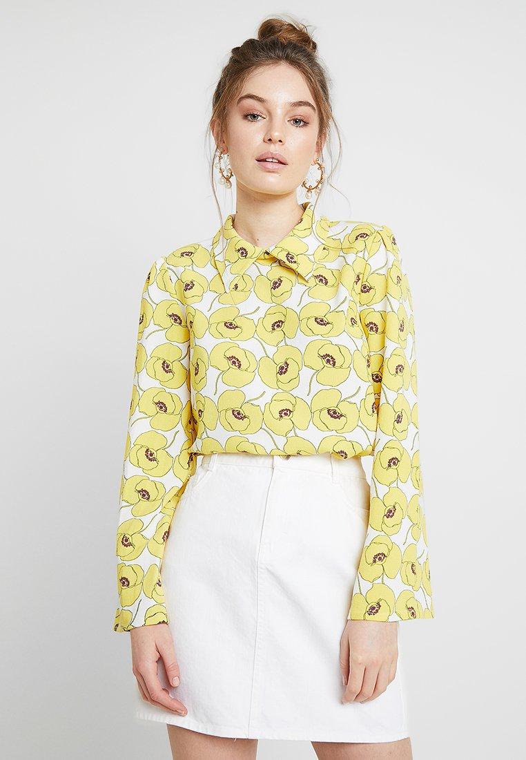 Résumé - MARON BLOUSE - Bluse - yellow