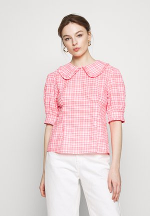 TIANNA BLOUSE - Blouse - neon pink