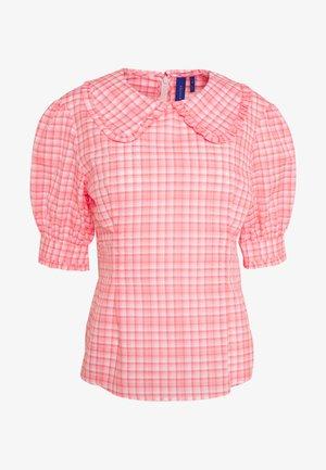 TIANNA BLOUSE - Bluser - neon pink