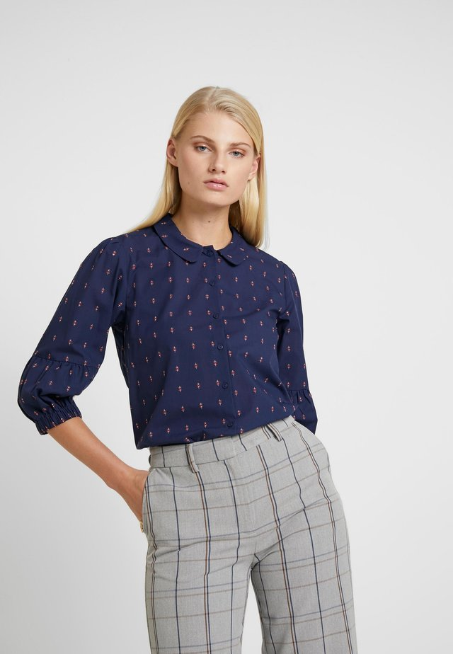 SAGA - Button-down blouse - navy