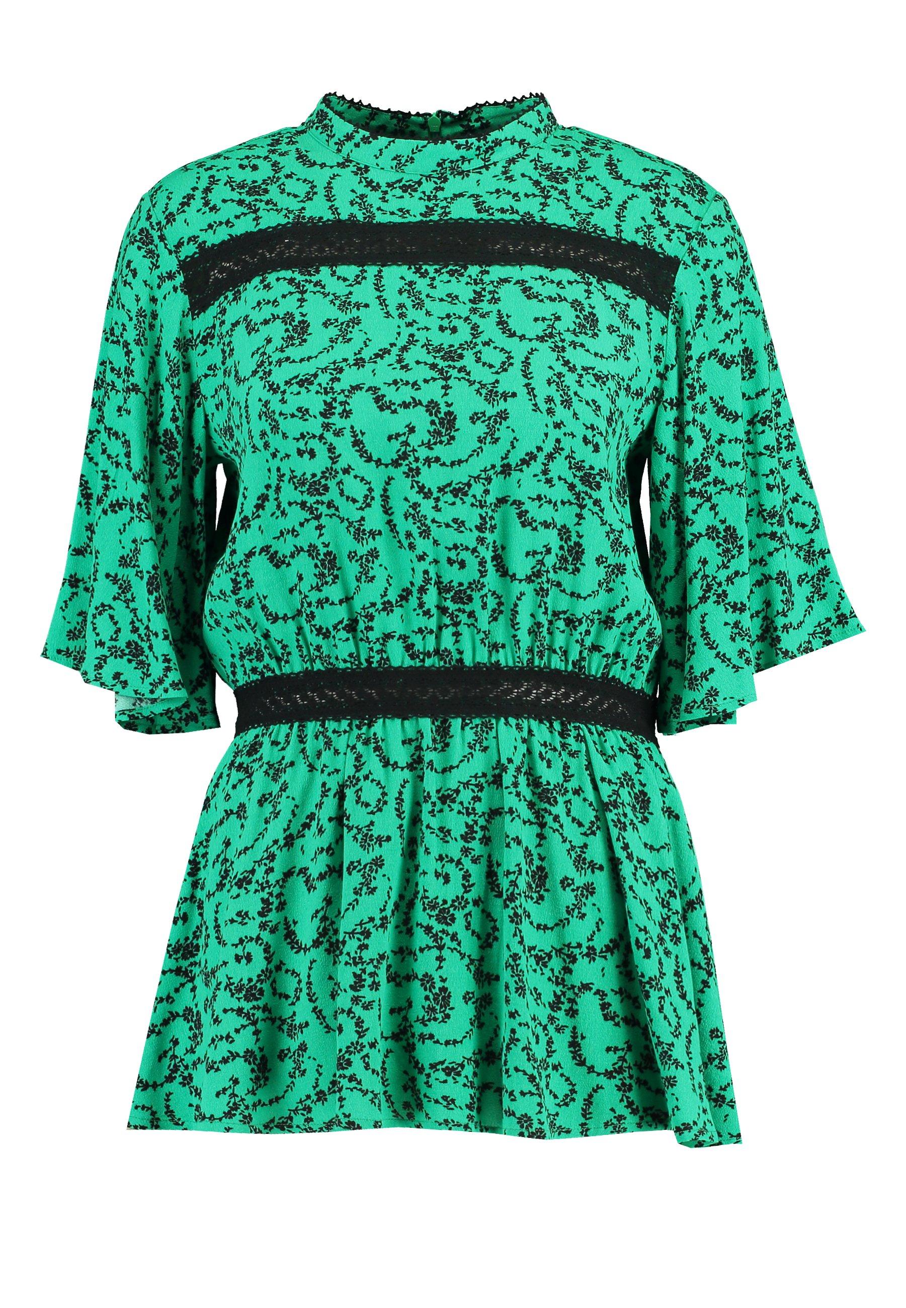 Résumé Selena Blouse - Camicetta Green JP4uTzN