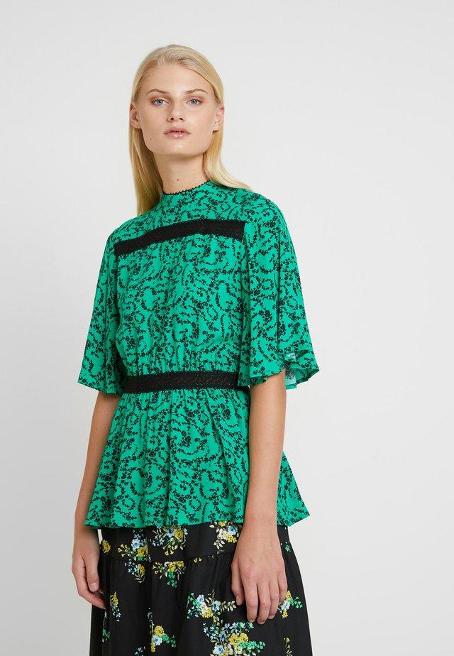 SELENA BLOUSE - Bluse - green