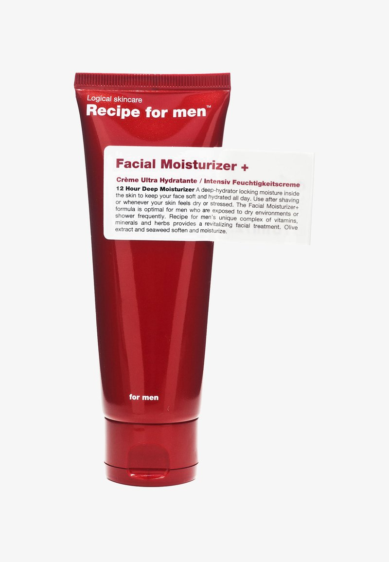 Recipe For Men - FACIAL MOISTURIZER + 75ML - Gesichtscreme - -