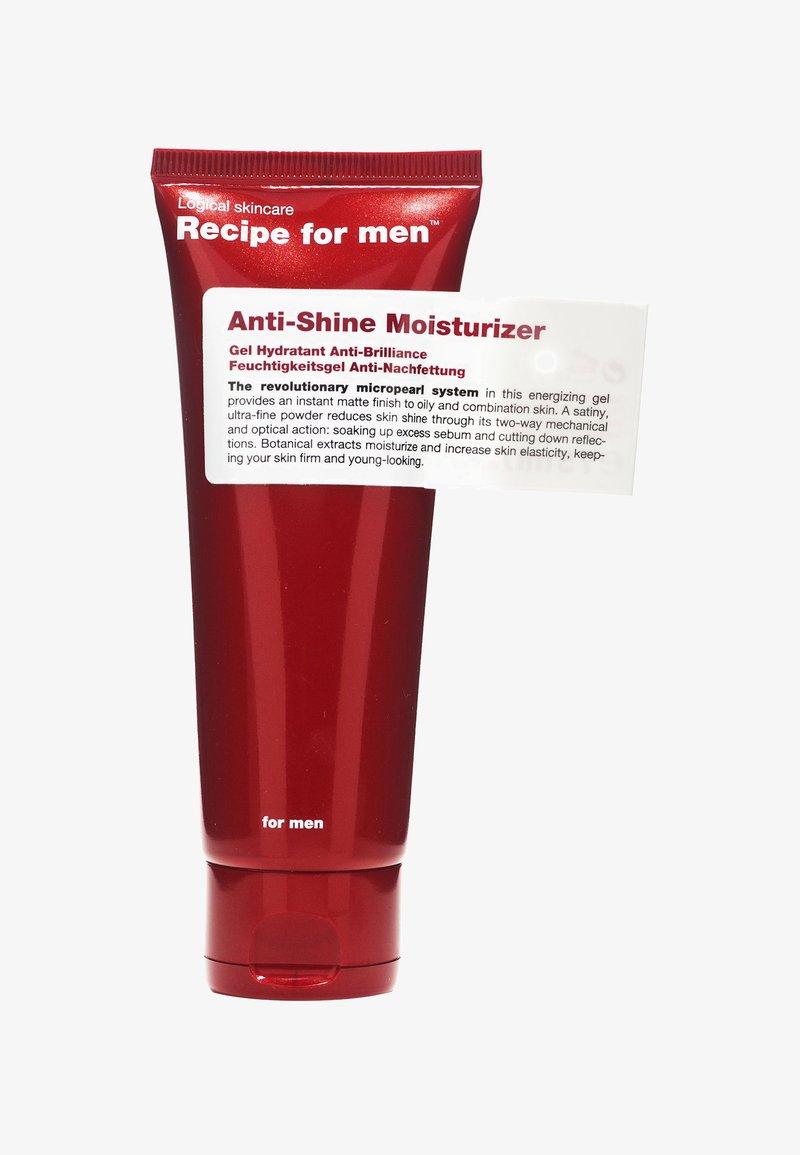 Recipe For Men - ANTI SHINE MOISTURIZER 75ML - Gesichtscreme - -
