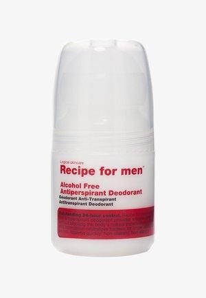 ALCOHOL FREE ANTIPERSPIRANT DEODORANT 60ML - Deodorant - -