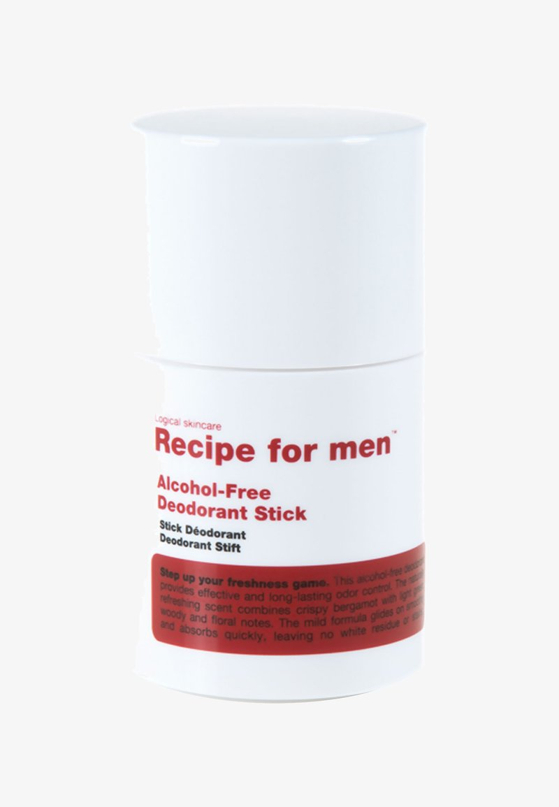 Recipe For Men - ALCOHOL FREE DEODORANT STICK 75ML - Deodorant - -