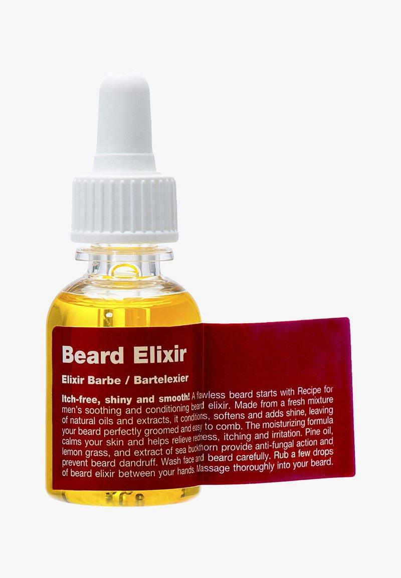 Recipe For Men - BEARD ELIXIR - Skægpleje - -