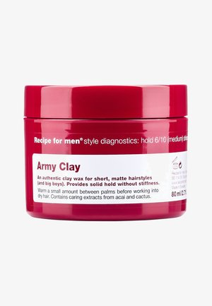 ARMY CLAY 80ML - Stylingproduct - -