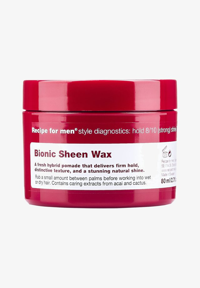 BIONIC SCHEEN WAX 80ML - Stylingprodukter - -