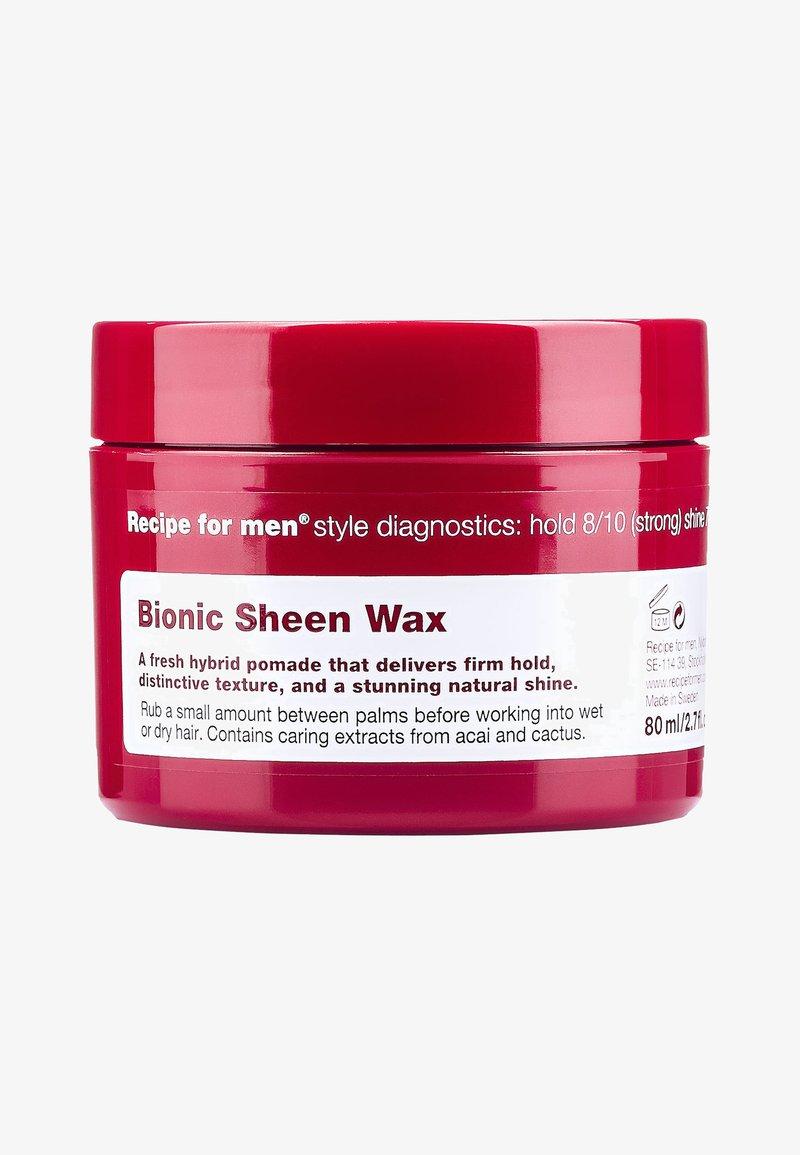 Recipe For Men - BIONIC SCHEEN WAX 80ML - Stylingproduct - -