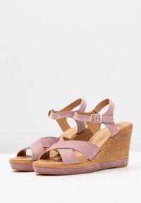 RE:DESIGNED - ULRIKA - Korolliset sandaalit - lavender - 4