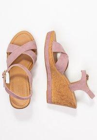 RE:DESIGNED - ULRIKA - Korolliset sandaalit - lavender - 3