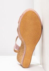 RE:DESIGNED - ULRIKA - Korolliset sandaalit - lavender - 6