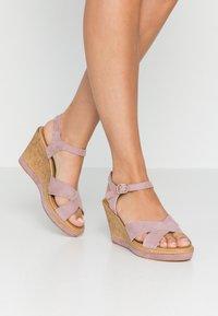 RE:DESIGNED - ULRIKA - Korolliset sandaalit - lavender - 0