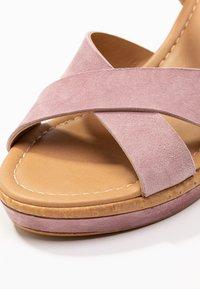 RE:DESIGNED - ULRIKA - Korolliset sandaalit - lavender - 2