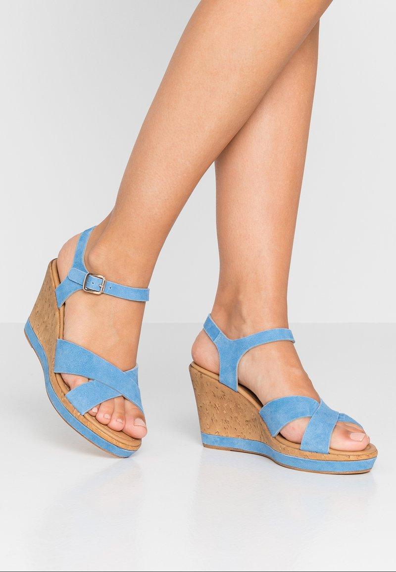 RE:DESIGNED - ULRIKA - Højhælede sandaletter / Højhælede sandaler - baby blue