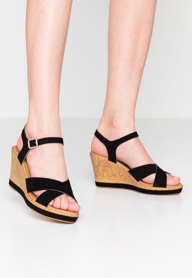 RE:DESIGNED - ULRIKA - High Heel Sandalette - black