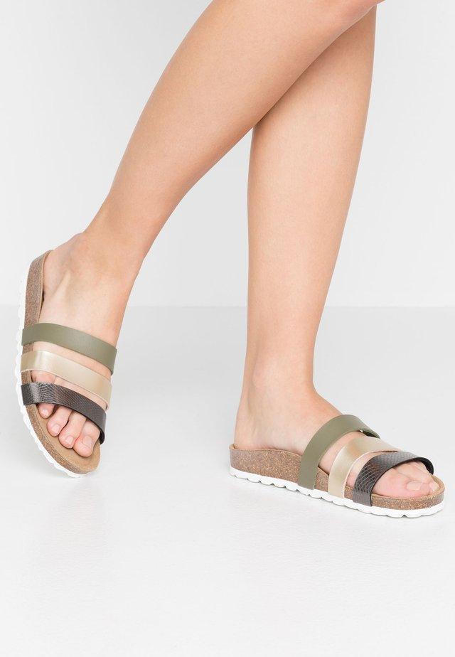 TAIMI - Pantofle - khaki