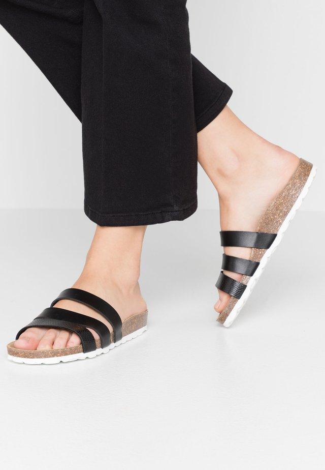 TAIMI - Pantofle - black