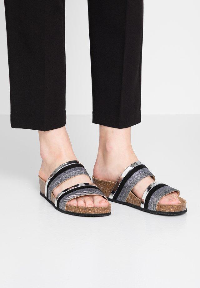 ZIRA - Pantofle - black