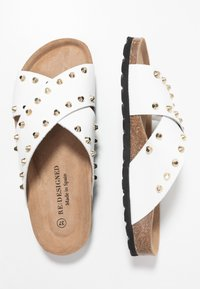 RE:DESIGNED - NALA STUDS  - Mules - white - 3