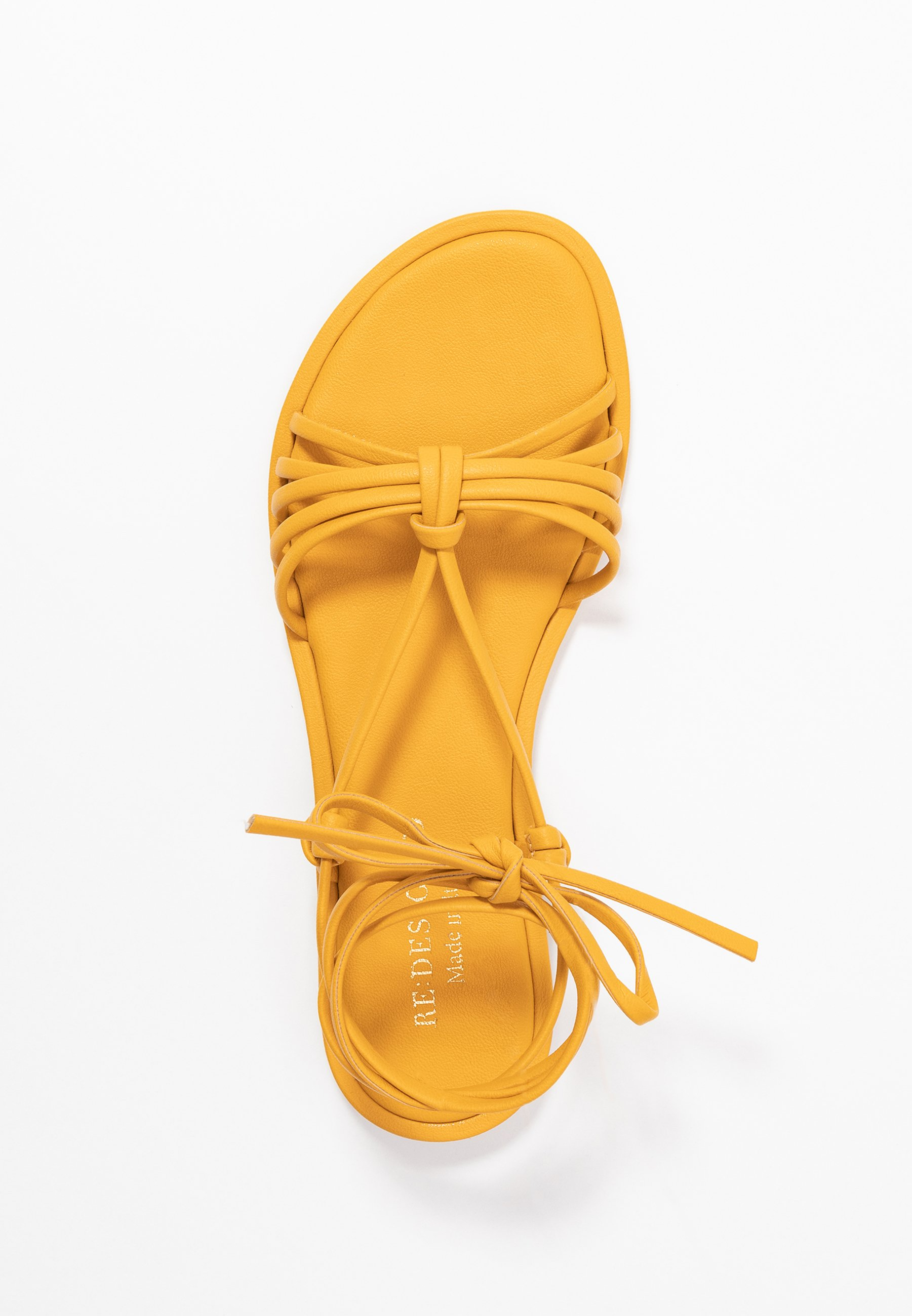 RE:DESIGNED NETTA - Sandaler - dark yellow