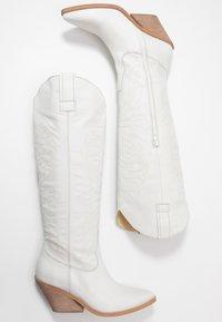 RE:DESIGNED - ROA - Cowboy/Biker boots - white - 3