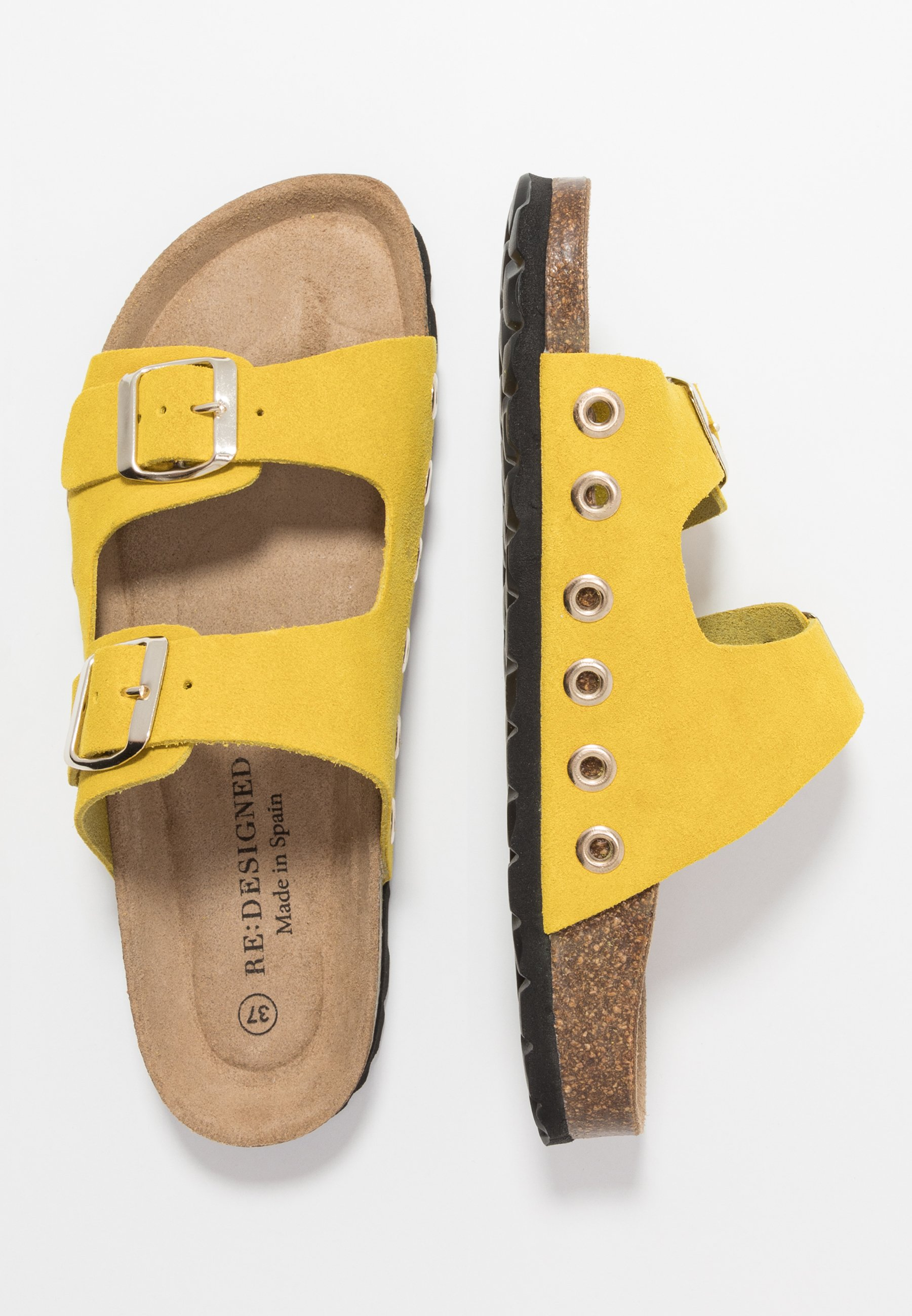 RE:DESIGNED Pantofole - yellow