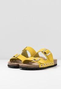 RE:DESIGNED - Domácí obuv - yellow - 4