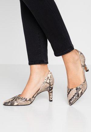 SALANA ANACONDA - Classic heels - beige