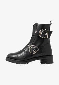 RE:DESIGNED - MOURA - Kovbojské/motorkářské boty - black - 1