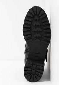 RE:DESIGNED - MOURA - Kovbojské/motorkářské boty - black - 6