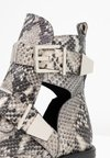 RE:DESIGNED - PERRY - Cowboy/biker ankle boot - beige