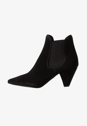 ZIBA - Korte laarzen - black