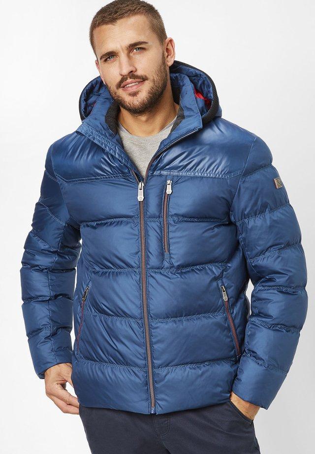 Winter jacket - dusty blue