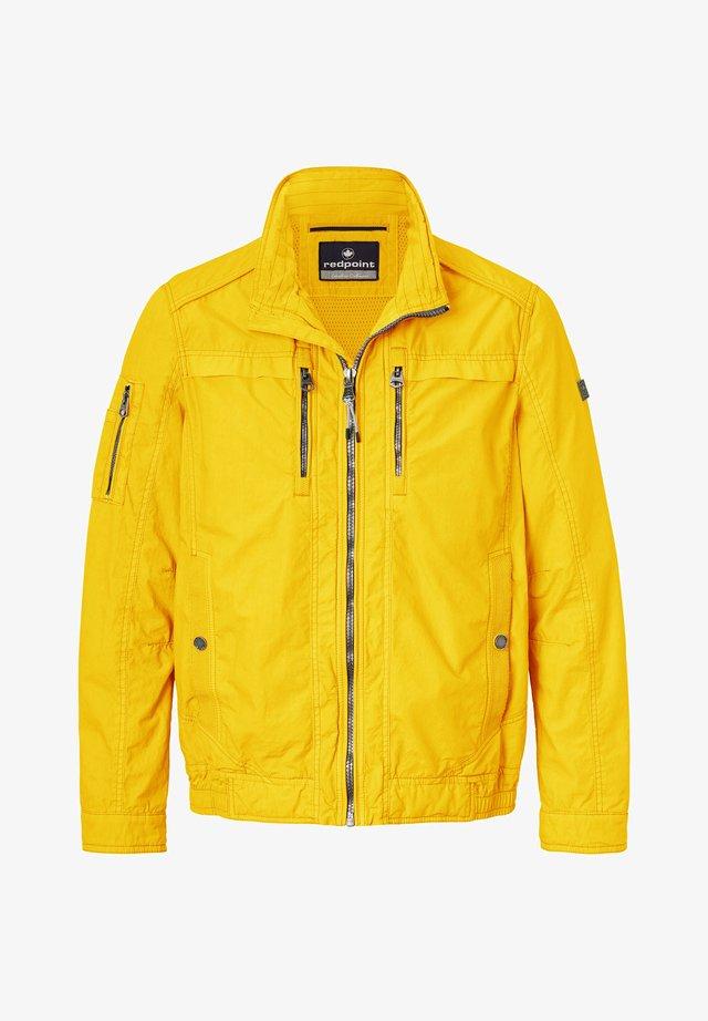 BYRON - Summer jacket - yellow