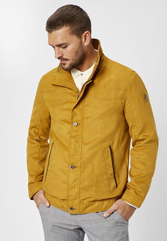 Bomber Jacket - pale yellow