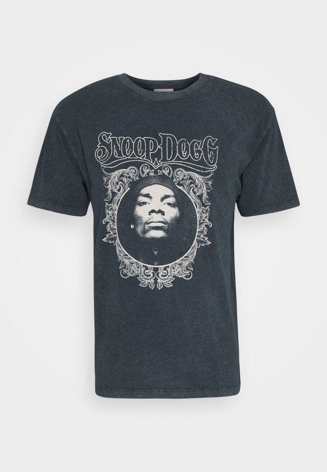 SNOOP DOG - T-shirts med print - black