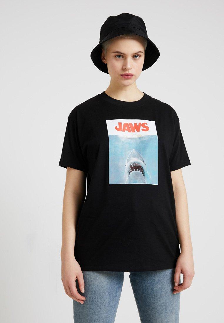 Revival Tee - JAWS TEE - Camiseta estampada - acid wash