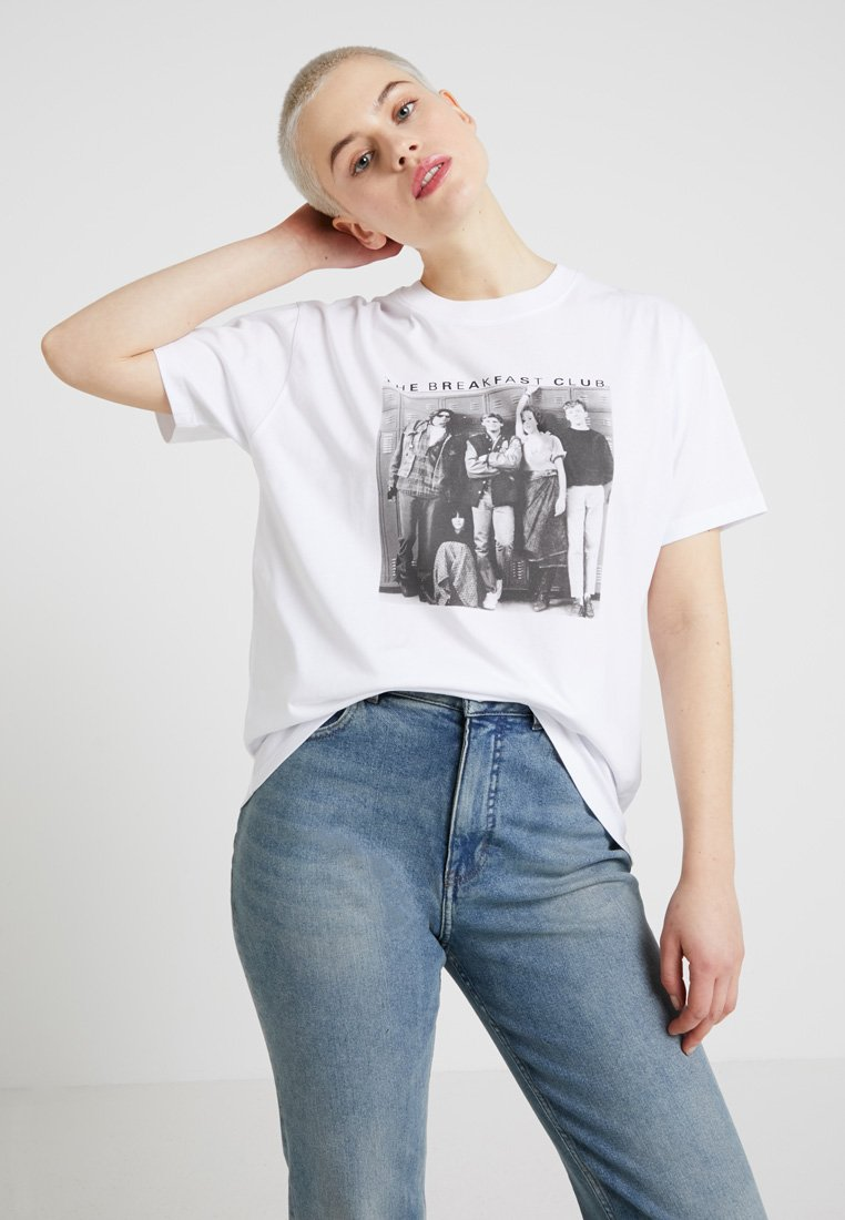Revival Tee - BREAKFAST CLUB TEE - T-shirt imprimé - white
