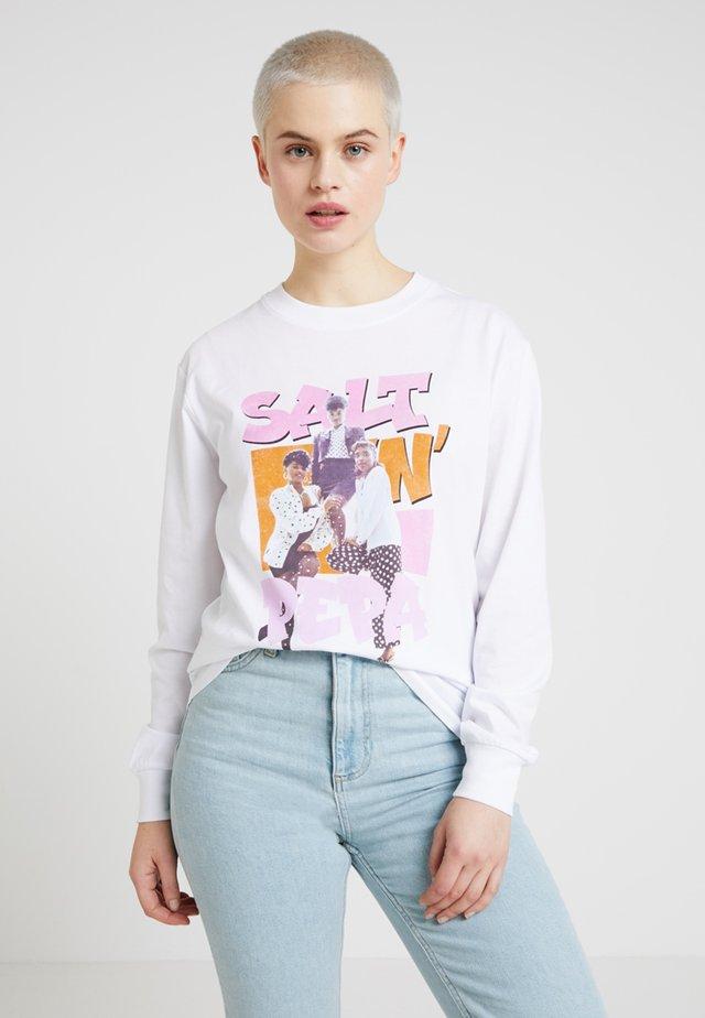 SALT N PEPA - Långärmad tröja - white
