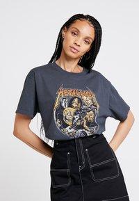 Revival Tee - METALLICA - T-Shirt print - washed black - 0
